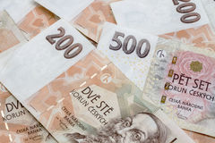 Czech currency Stock Image