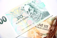 Czech Currency Royalty Free Stock Images