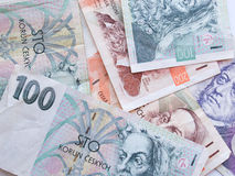 Czech currency Stock Photo