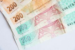 Czech currency Stock Photography