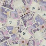 Czech Currency Royalty Free Stock Photo