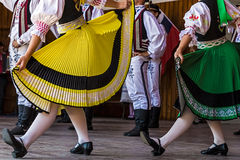 Czech dancers 2 Royalty Free Stock Photography