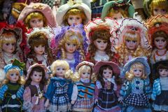 Czech dolls Stock Image