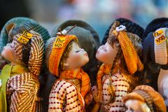 Czech dolls Stock Image