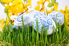 Czech easter eggs Stock Photography