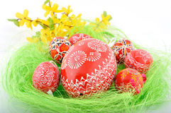 Czech easter eggs Royalty Free Stock Photo