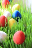 Czech easter eggs background Stock Photography