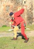 Czech famous juggler Zdenek Vlcek Stock Photos