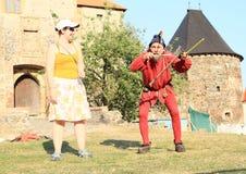 Czech famous juggler Zdenek Vlcek Stock Image
