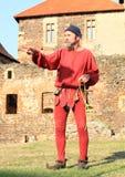 Czech famous juggler Zdenek Vlcek Royalty Free Stock Photo