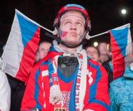 Czech fan Royalty Free Stock Photos