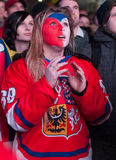 Czech fans Royalty Free Stock Photography