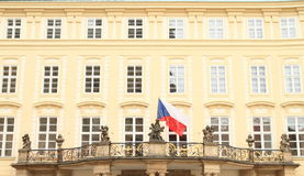 Czech flag Royalty Free Stock Images
