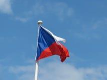 Czech Flag of Czech Republic Stock Photography