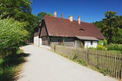 Czech folk architecture royalty free stock photography