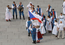 Czech folklore Stock Photo