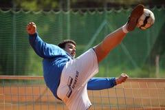 Czech footballtennis extraleague - Pavel Kop Royalty Free Stock Photo