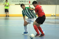 Czech futsal league - Douglas Stock Photos