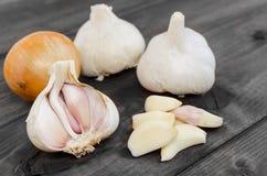 Czech garlic Stock Photo