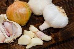 Czech garlic Royalty Free Stock Image