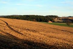 Czech Hinghland field Stock Photos