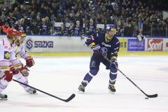 Czech hockey extraleague Royalty Free Stock Photo