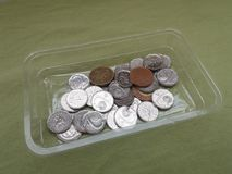 Czech Koruna coins, Czech Republic Royalty Free Stock Photography
