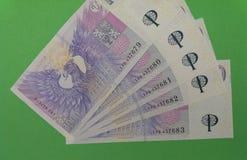Czech Koruna notes, Czech Republic Royalty Free Stock Images