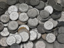 Czech korunas coins Stock Images