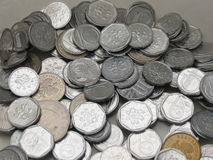 Czech korunas coins Stock Photos