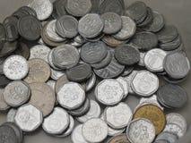 Czech korunas coins Stock Photography