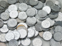 Czech korunas coins Royalty Free Stock Photo