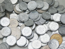 Czech korunas coins Royalty Free Stock Photos