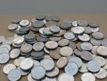 Czech korunas coins Stock Image