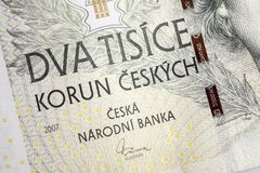 Czech korunas CZK Royalty Free Stock Image