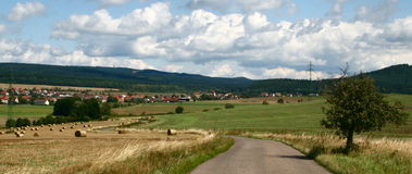 czech krajobraz Zdjęcia Stock