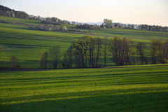 czech krajobrazowa republiki wiosna Zdjęcia Royalty Free