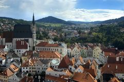 Czech Krumlov. View Stock Images