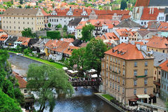 Czech Krumlov Royalty Free Stock Image