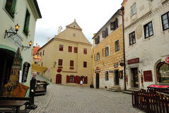 Czech Krumlov Royalty Free Stock Photography