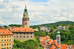 Czech Krumlov Royalty Free Stock Photo