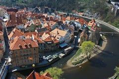 Czech krumlov Royalty Free Stock Photo