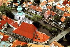 Czech Krumlov Royalty Free Stock Photos