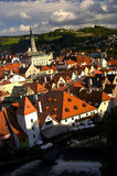 Czech Krumlov. Fortress View (Czech Republic Royalty Free Stock Photos