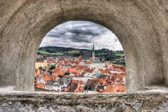 Czech Krumlov Stock Photo