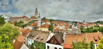 Czech Krumlov Stock Images
