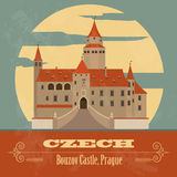 Czech landmarks Royalty Free Stock Photos
