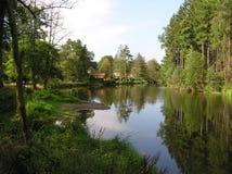 Czech landscape stock photo