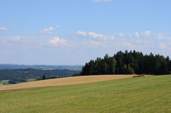Czech landscape Royalty Free Stock Photography