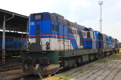 Czech locomotive Stock Image
